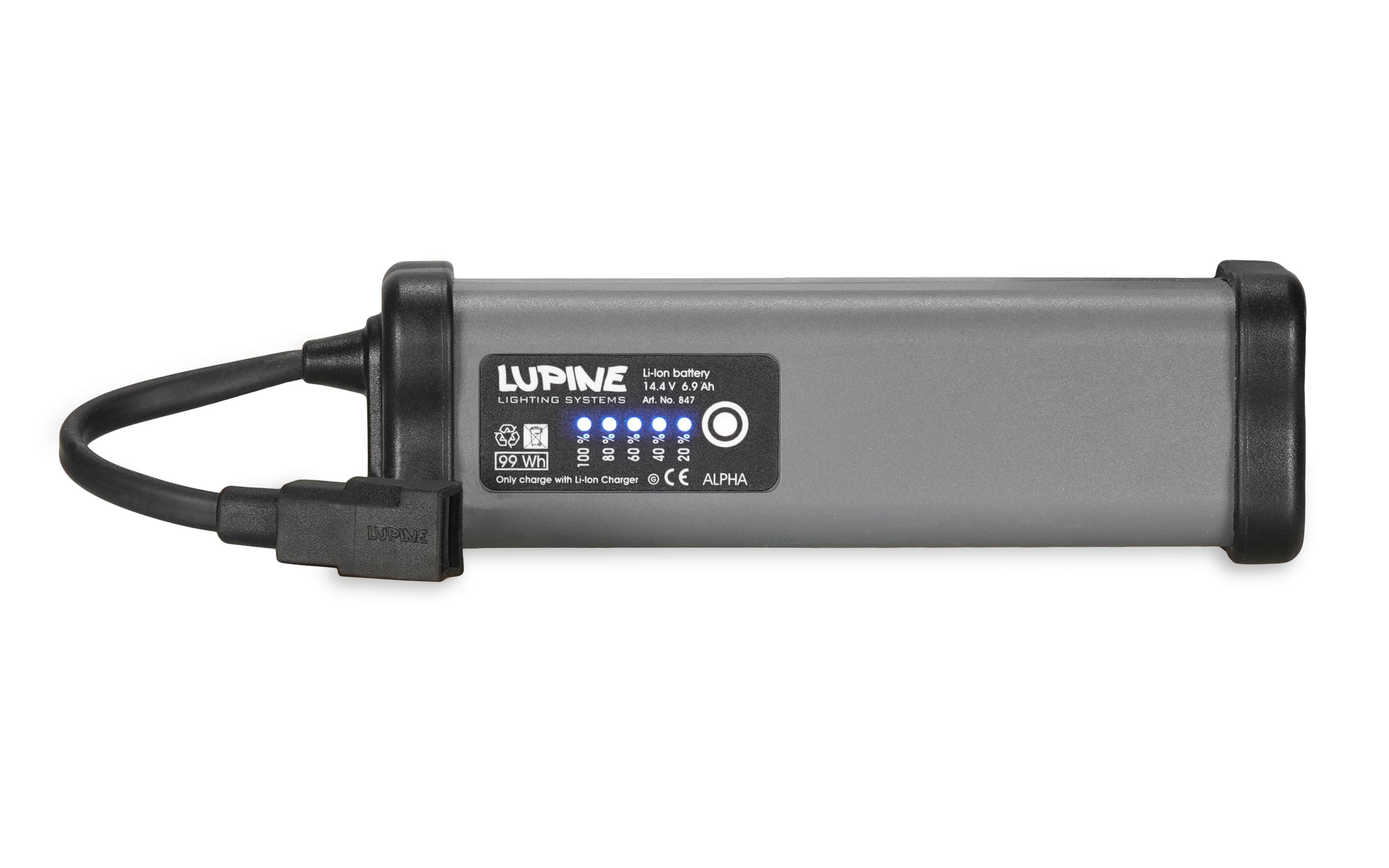 6.9 Ah SmartCore Akku (14.4V System nur für Alpha)