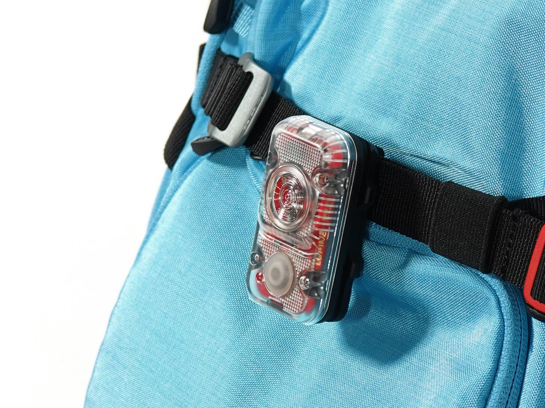 Backpack mount Rotlicht (for backpacks)
