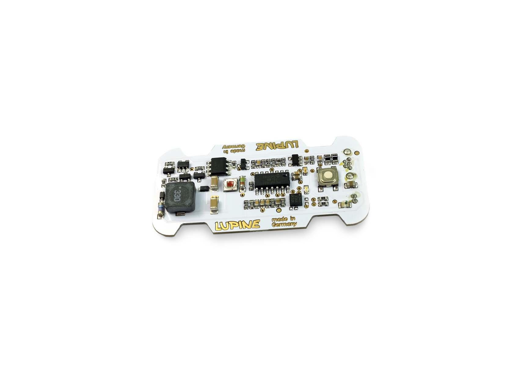"Rotlicht electronic board ""white"""